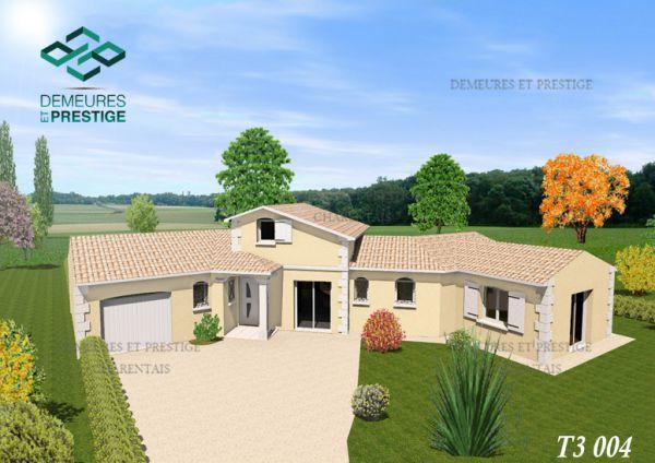 t3004 maison traditionnelle t3 demeures et prestige